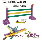 Barre Obstacle LA GEE